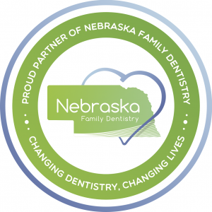 Image of the NFD Badge from Coddington Dental in Lincoln, NE.