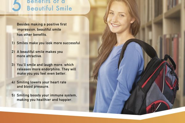 3 teens smile