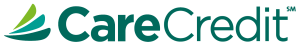 Image of the CareCredit logo. CareCredit can makes dental services like sedation dentistry, even more affordable.