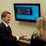 cometic dental evaluation toward a patient