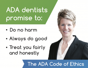 Dr. Jodi Day ADA code of ethics for Lincoln dentists