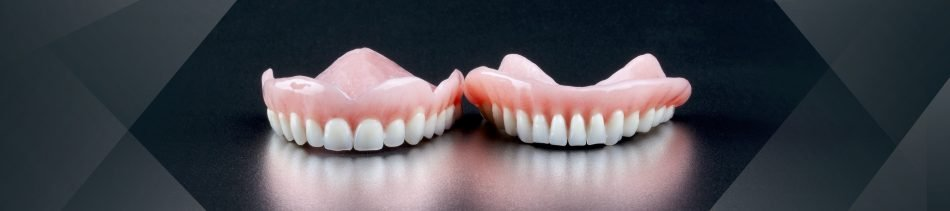 Image of cosmetic dentures from Coddington Dental in Lincoln, NE.