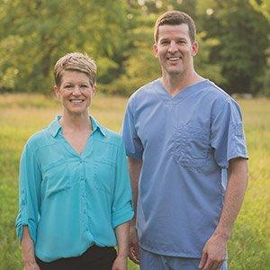 gentle dental dentists Dr. Jodi Day and Dr. Brad Alderman in lincoln NE