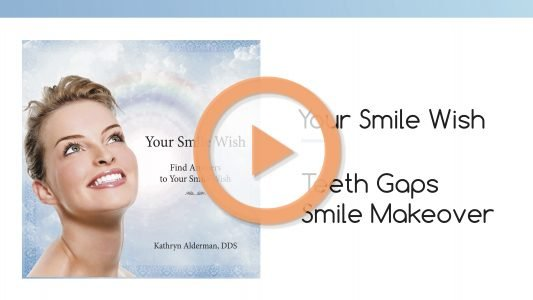 your smile wish for teeth gaps from dr kathryn Smile Makeovers
