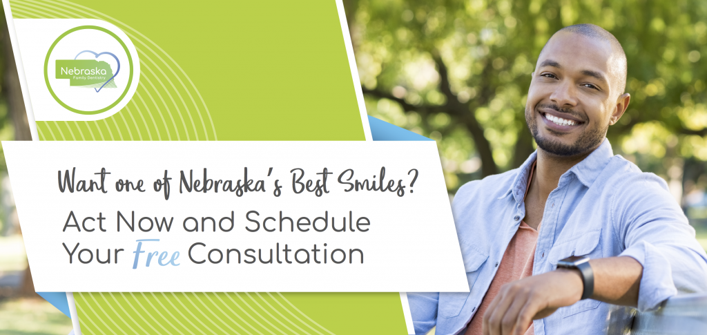free-consultation-with Dr.Brad Alderman for non-removable denture option Lincoln, NE