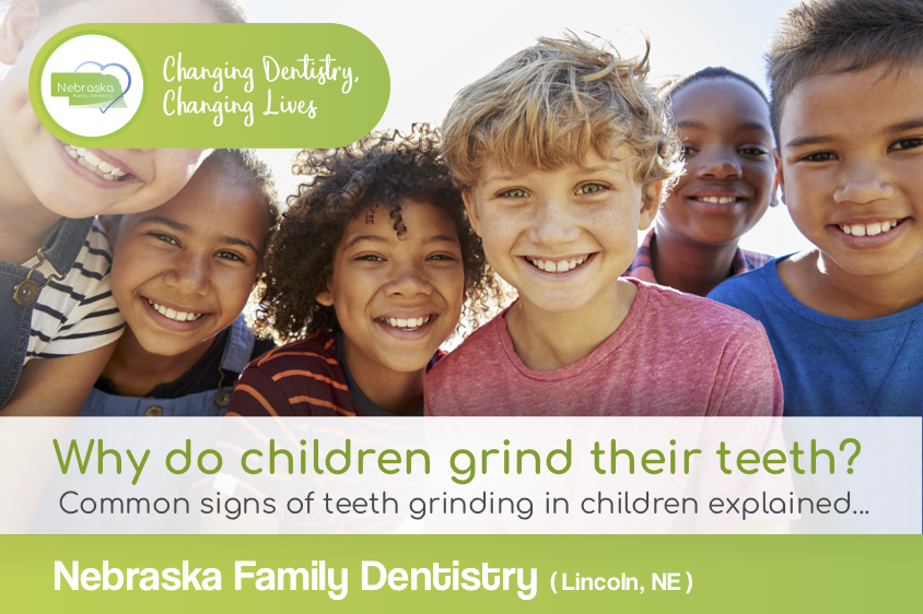 why do children grind their teeth in Lincoln NE banner for Teeth grinding in children