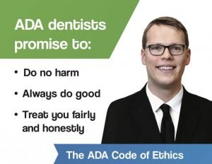 Dr. Ben Joekel ADA code of ethics for Lincoln dentists