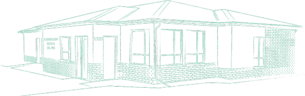 Sketch of your West Lincoln Dentists office, Coddington Dental in Lincoln, NE.