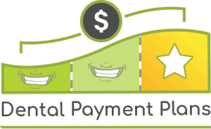 Image of the dental payment plans logo from Coddington Dental in Lincoln, NE. Payment plans can make fixing a lost crown, very affordable.