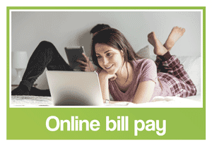 Online bill pay image - a convenience feature offered by your West Lincoln Dentists.