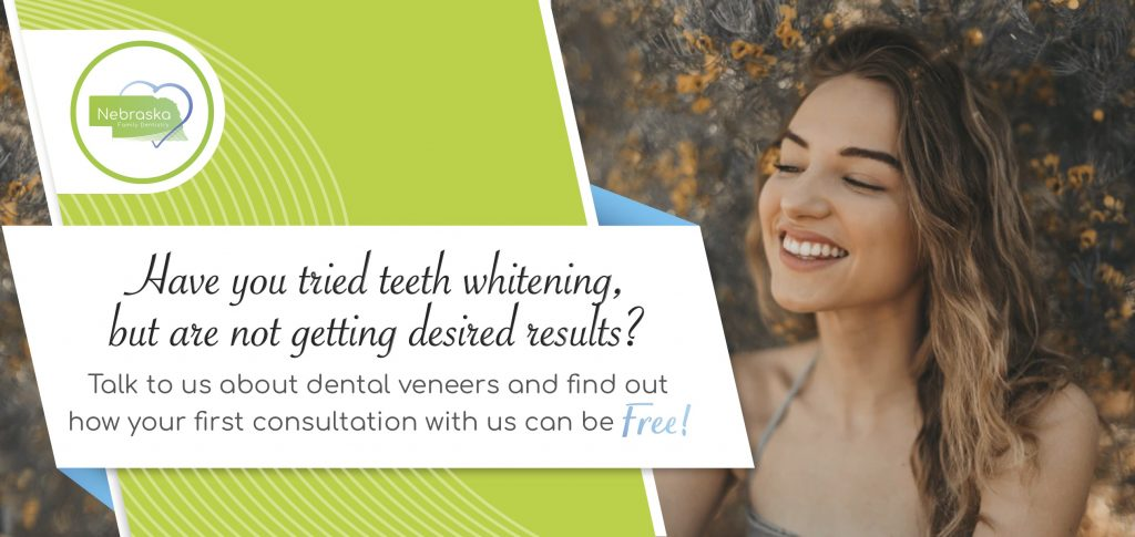 free consultation for a smile makeover cosmetic dentistry near me Lincoln, NE banner