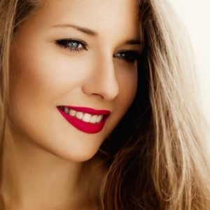Image of a professional teeth whitening patient.