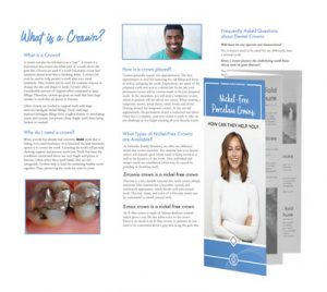 brochure nebraska family dentistry crowns